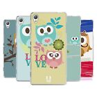 HEAD CASE DESIGNS KAWAII OWL SOFT GEL CASE FOR SONY PHONES 1