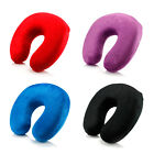 Travel - Memory Foam U Shaped Travel Pillow Neck Support Head Rest Airplane Cushion
