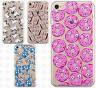 Apple iPhone 7 & 7 PLUS Etched 3D TPU Gel Hard Skin Case Cover +Screen Protector