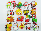 KAILIZ Soft Christmas Toys Set Boy Girl Figures Kids Soft Fridge Magnets NEW UK