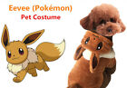 Evee Pokemon Pet Dog Cat Fashion Costume Cosplay Party  Dress - NEW!