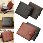Mens Fashion Luxury Soft Business Leather Bifold Wallet Credit Card Holder Purse