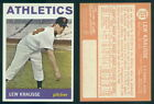 (46539) 1964 Topps 334 Lew Krausse Athletics-NM