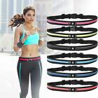 Runner Waist Belt Bag Pack Pouch Bum Sport Jogging Universal Dual Pocket  image