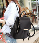 Women Shoulder Bag Backpack Leather School Student Fashion Bags Travel Casual