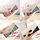 Fashion Women Lady Leather Clutch Wallet Long PU Card Holder Purse Handbag New