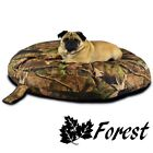 Dirty Dog Camouflage Circular Waterproof Pet Bed with Orthopedic Rebound Foam