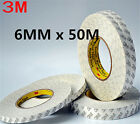 DZ602 3M Double Side SUPER STICK HEAVY ADHESIVE For Repair Cell Phone 6mm x 50M♫