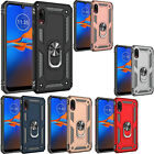 For LG Rebel 4G LTE Premium Dual Window Side Flip Protector Phone Case Cover