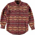 PENDLETON L/S PINE TOP FITTED SHIRT RED PINE