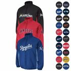 2016 MLB Double Climate Quilted Full Zip AUTHENTIC ON-FIELD Jacket MAJESTIC Men on Ebay