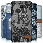 HEAD CASE DESIGNS JEANS AND LACES REPLACEMENT BATTERY COVER FOR SAMSUNG PHONES 1