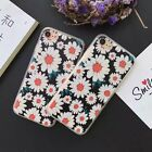 For iPhone 7 7 Plus 6 6S Plus 5S Beautiful Daisy Pretty Floral Elegant Hard Case