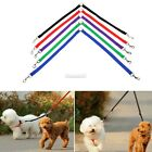 Strong Nylon Double Twin Coupler Dog Pet Lead Leash with Clip for Collar FT