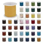 1 Roll 10M Real Leather Cord Thread Jewelry Beading Bracelet Making 1/1.5/2/3mm