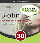 Kyпить BIOTIN Tablets 10,000mcg Max HIGH Strength Healthy Skin Hair Nails Growth UK на еВаy.соm
