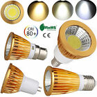 9W 12W 15W Ultra Bright CREE MR16 GU10 E27 E14 GU5.3 B22 COB LED Spotlight Bulbs