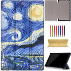 Smart Flip PU Leather Case Cover Protective For New-All Amazon Fire HD8 2016 Gen