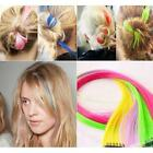 One Piece Highlight Women's Colorful Straight Single-Clip Clip in Hair Extension