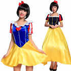 Carnevale Donna Cosplay Costume Fancy Dress Principessa Biancaneve Snow White