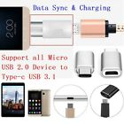 USB 3.1 Type-C Male Connector to Micro USB 2.0 Female Converter USB-C Adapter