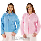 Ladies Button Through Fleece Bed Jacket/Gown Size 12,14,16,18,20,22,24,26