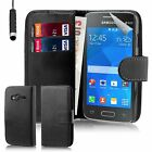 Book Wallet Case Cover Samsung Galaxy Ace Models