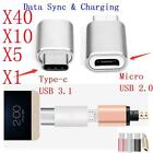 40/10/5*Micro USB to Type-C Adapter Convert for HUAWEI P9 PLUS Honor V8 G5 6P 4C