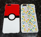 Pokeball or cute Pokemon Cartoon Characters Iphone 6 6s Case Cover