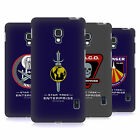 OFFICIAL STAR TREK MIRROR UNIVERSE BADGES ENT HARD BACK CASE FOR LG PHONES 3