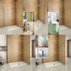 Luxury Wet Room Shower Enclosure Walk In 8mm NANO Glass Screen Panel Cubicle