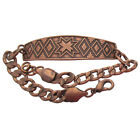 Solid Copper Bracelet Southwest Design Handcrafted Arthritis Pain Relief Jewelry