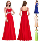 Sequin&Beaded Formal Long Cocktail Party EVENING Prom Bridesmaid DRESS Ball Gown