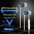 WP01 Portable 360 Degree Stereo Universal 3.5mm Port In-ear Wired Earphone L0