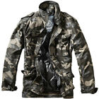 Brandit M-65 Standard Jacket Patrol Military Mens Coat Tactical Parka Dark Camo