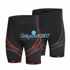 DS New Men Summer Bicycle Bike Shorts Cycling 4D Padded 1/2 Pants Trousers5045R