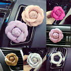 Cars Camellia Flower Smell Air-Conditioning Outlet Vent Perfume Clip Interior