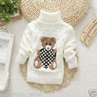 Baby Sweater Pullover Winter Warm Kids Boy Girl Knitted Children Size 3T-5T