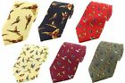 Country Birds Silk Ties