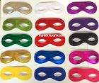 Masquerade Masked Ball Eye Mask Adult Superhero Bandit Fancy Dress Pick A Colour