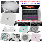 For 2016 Macbook Pro13 A1708/A1706(Touch Bar)Clear Rubberized Hard Case+kb Cover