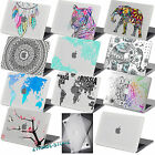"Clear Print Rubberized Hard Case For new Macbook PRO 13""(Touch Bar)/Older Pro 13"