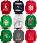Star Wars Christmas Jumper Sweatshirt Vader R2D2 Stormtrroper new Official