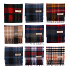 New Long Neck Tartan Scarf Scottish Lochcarron Wool Scarf in 20 + Tartans