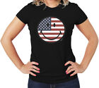 American Smiling Face T-Shirt