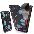 Floral Flower Quality PU Leather Flip Case cover for Sony Xperia Mobile Phones