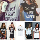 Women Summer Casual Fashion Cotton Blouse Short Sleeve Shirt T-shirt Blouse Top