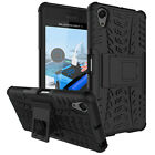 Xperia X case , exact fit drop protection stand shockproof black