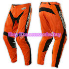 New Men's Troy Lee Designs TLD GP Raciing Pants With Pads (ORANGE)