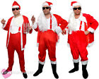 NAUGHTY SANTA COSTUME FUNNY NOVELTY SLEAZY BAD FATHER CHRISTMAS SUIT LOT